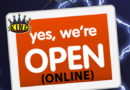 Yes, we are OPEN ONLINE