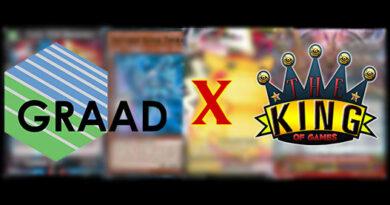 The King of Games e GRAAD: insieme per gradare le vostre carte