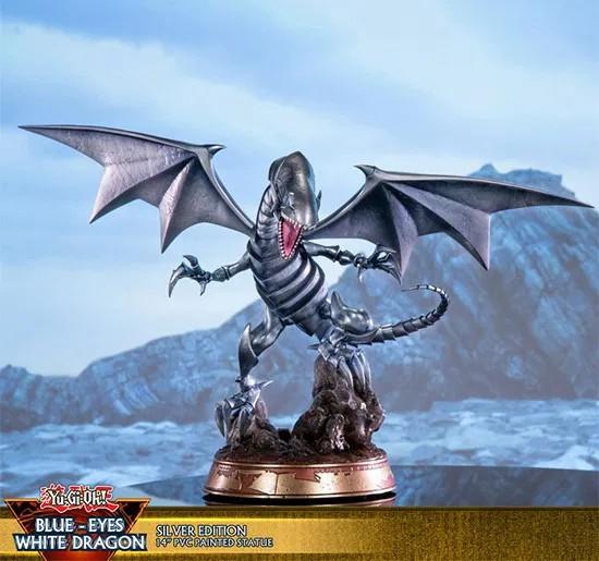 card metallica Drago Bianco